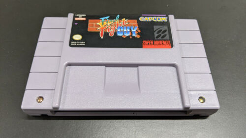 Final Fight Guy (SNES), Authentic, Tested