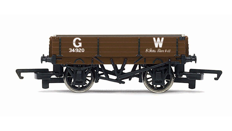 Hornby R6806 GWR Great Western 3 Plank SWB Freight Wagon OO