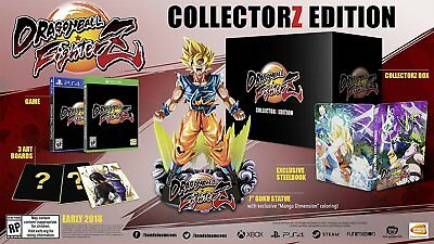 Dragon Ball Fighterz Collectorz Edition Ps4   Collectors Fighter Z Playstation 4