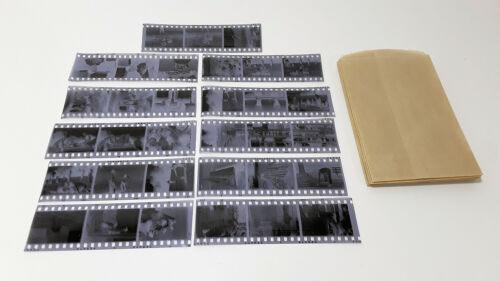Vintage Photo Negatives - Camp Wayne For Boys / Girls - Lot of 11