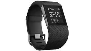 Fitbit Surge Fitness Watch Small Black - NEW Dernancourt Tea Tree Gully Area Preview