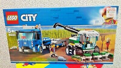 LEGO CITY 60223 TRASPORTATORE DI MIETITREBBIA 5 +