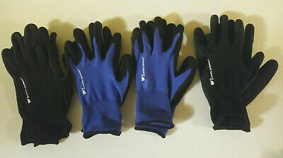 Wells Lamont Mens Foam Latex Work Gloves 4 Pairs