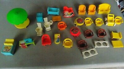 HUGE Lot of Vintage Fisher Price Accessories
