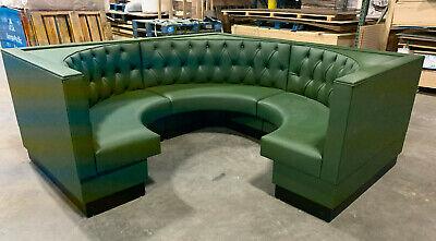 Restaurant Corner Booth -upholstered Diamond Tufted 36h 42h48h