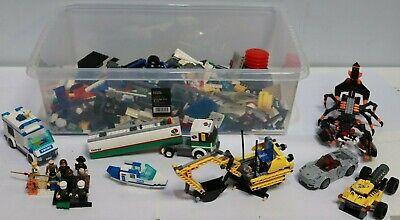 4.4 KG LEGO LARGE Job Lot of Mixed Bricks Parts Figures Vehicles Sets -  232
