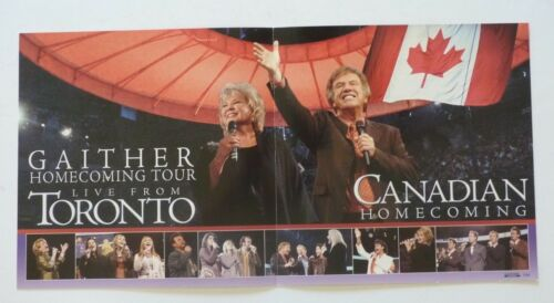 Gaither Gospel Homecoming Toronto LP Record Photo Flat 12x24 Poster