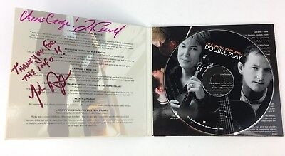 (Double Play  Liz Carroll & John Doyle - Autographed/ Signed Booklet with CD )