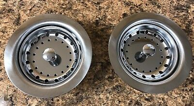 2 NEW Kitchen Sink Basket & Strainers Mobile Home Parts 3-1/2