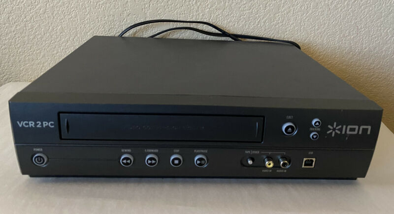 ION VCR 2 PC USB 2.0 Cable VHS Video to Computer Transfer Converter