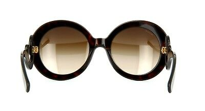 Prada Women's Baroque SPR27N SPR/27N 2AU6SI Havana Brown Fashion Sunglasses 55mm