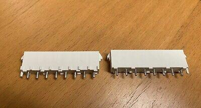 Tetycoamp 643410-1 Conn Header Vert 8pos 6.35mm 2pcs 1 Lot