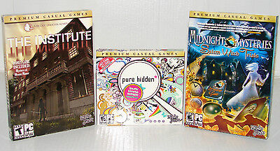 Lot Of Hidden Object Seek   Find  Pc Games    New   Low Price   Free Shipping
