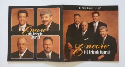 Gaither Gospel Encore Old Friends Quartet LP Record Photo Flat 12x24 Poster
