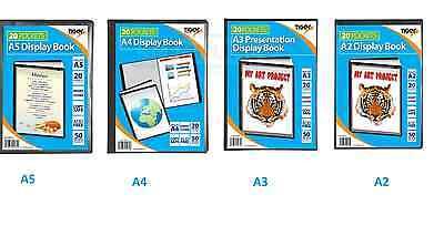 Quality Presentation Display Book Portfolio Folder In A5 A4 A3 A2