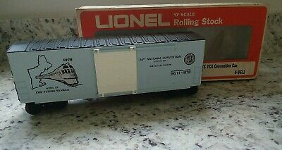 1978 Lionel TCA Boston Hi-Cube Convention Car: Flying Yankee, New/Boxed!