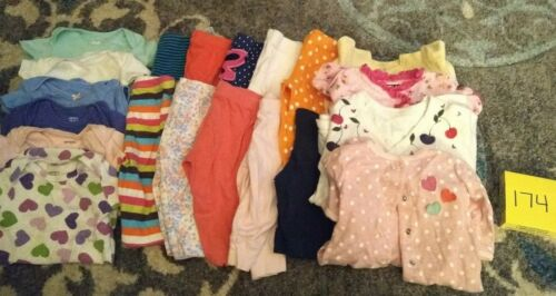 Girls Clothes 3 Month - Spring/Summer - Mixed Lot of 20 Pieces #174