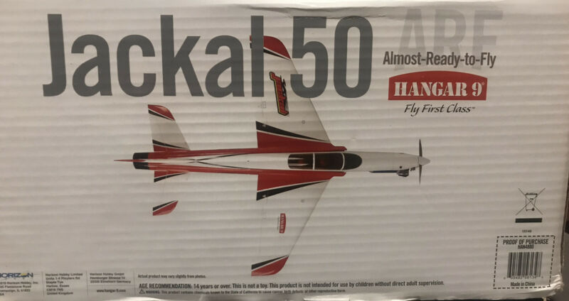 Hangar 9 Jackal 50 ARF HAN4880
