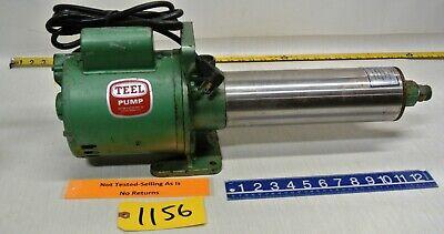 Teel 12 Hp Jet Pump 1p879a With Dayton Electric Motor 9k573 Free Ship