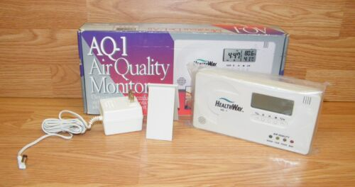 HealthWay AQ-1 Air Quality Monitor - Detects over 60 Harmful Contaminants *READ*