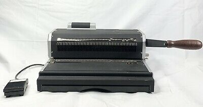 Akiles Coilmac-er41 Coil Binding Machine Oval Holes Punch With Inserter