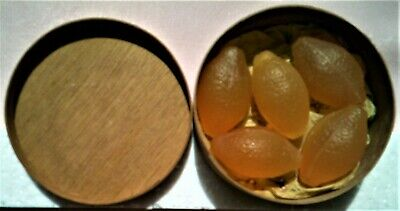 LYNDALWARE, Scotland - Lemon Soaps in wooden box. Vintage collectable