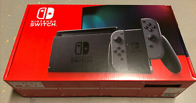 Nintendo Switch HAC-001(-01) 32GB Console with Gray Joy‑Con New Best Offer!
