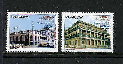Paraguay 2900-2901, MNH, 200 Years independence 2010. x16941