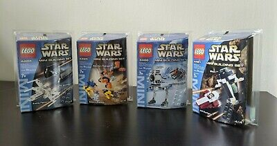 Star Wars Lego Mini Building Sets 4484 4485 4486 4487 - 4 sets NEW IN BOX SEALED