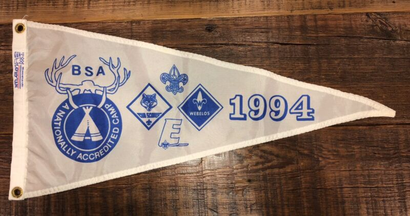 Boy Scout National Camp Accredited Banner 1994