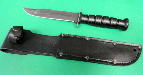 GENUINE USMC FIGHTING KNIFE W/SHEATH ONTARIO MFG.