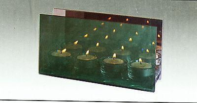 """Teelicht """"Spiegelleuchter"""" 4 Teelichter Spiegelleuchter Leuchte Romantik rauchfa ()"""