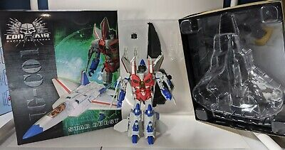 Transformers Con Air Star Burst IG-C01 iGear Starscream Figure Complete w Box