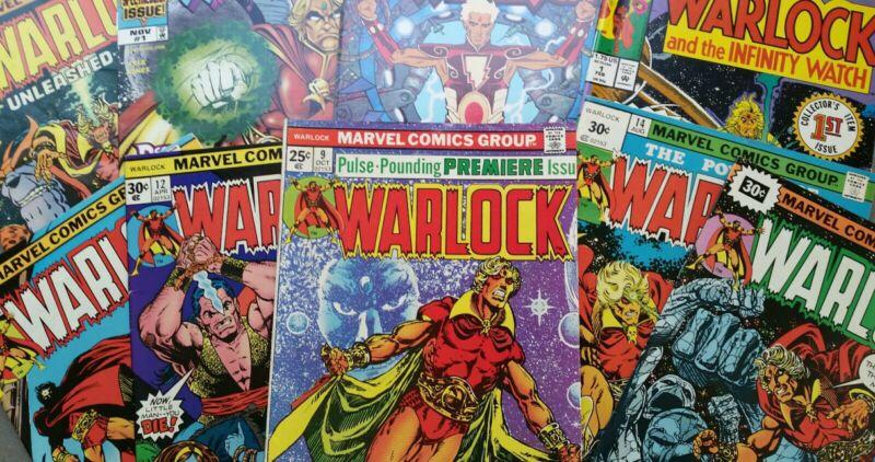 Marvel Comics Warlock Jim Starlin 1 2 3 9 11 15 Infinity Watch War Resurrection