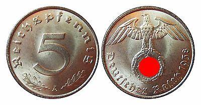 J363   5 Pfennig  1938 A in STG  100056-61