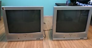 Two tv/DVD player