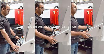 NEW NEW RMT - KYSON FIBER LASER 6' X 13'  DUAL TABLES 4 KW