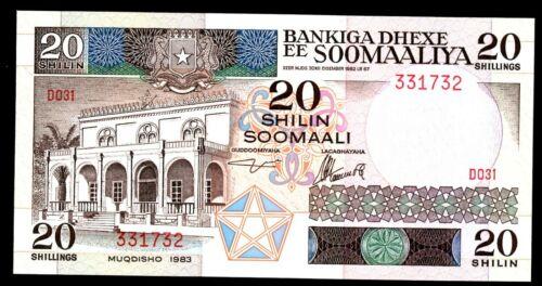 Somalia … P-33a… 20 Shillings … 1983 ... *CHOICE UNC*