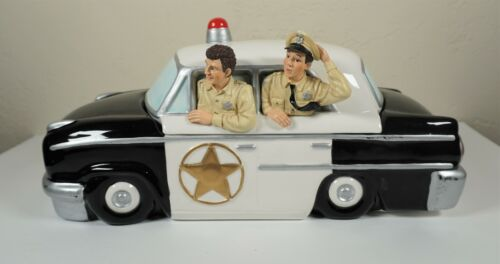 RARE Andy Griffith Police Patrol Car Cookie Jar