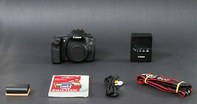 Canon EOS 60D 18.0MP DSLR Camera, Black, Body Only, Nice, Low Shutter, Free Ship