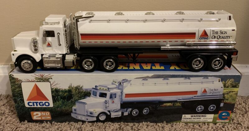 CITGO TOY Tractor Trailer TRUCK Gas Oil TANKER 1997 2ND In Series- NEW OLD STOCK