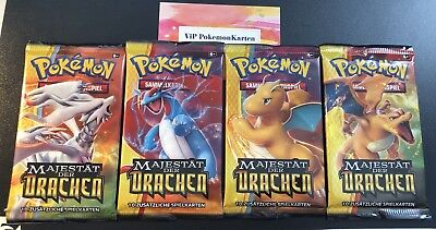 1 Pokemon Booster Pack *S&M 7.5 Majestät der Drachen* in deutsch  NEU & OVP
