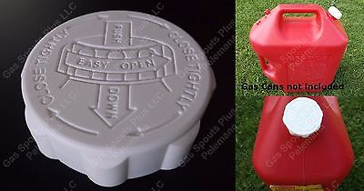 1 Rubbermaid Essence Gas Can Cap Only Hd Blitz Gallon Lid Safety W Viton Gasket