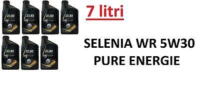 7 LT Olio Motore Selenia WR Pure Energy 5w30 ORIGINALE per Motori FIAT Multijet