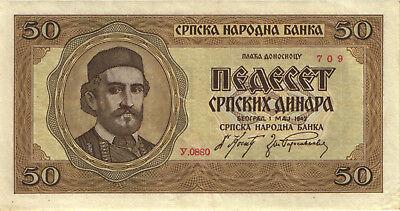Ro.607 Besetzung Serbien 500 Dinar 1942 (3)