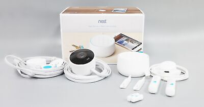Nest B01234-US Secure Alarm System with Nest Cam Outdoor - White
