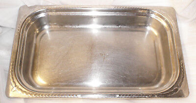 Vollrath Miramar 8230410 Full Size Mirror Stainless Steel Steam Table Pan 2-12