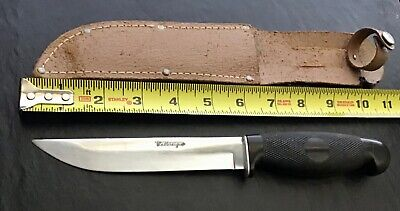 Vintage US Cattaraugus Hunting Knife w/ Sheath