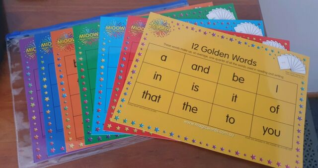 Magic 100 Words Sheets | Other Baby & Children | Gumtree Australia  Glenorchy Area - Glenorchy | 1263842310
