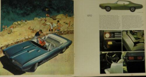 1969 PONTIAC SALES BROCHURE